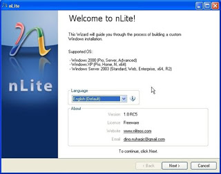 Modify Windows Installation Using Nlite Or Vlite