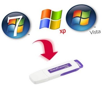 install windows using USB pen drive