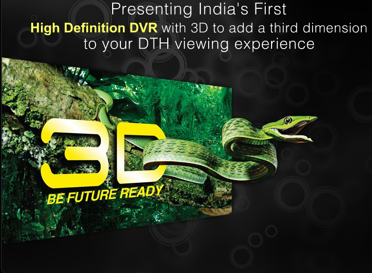 Videocon D2H 3D HD DVR FEATURES SPECIFICATION PRICES