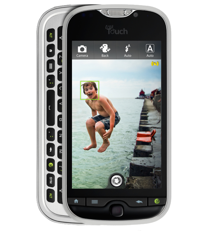 mytouch 4g slide features