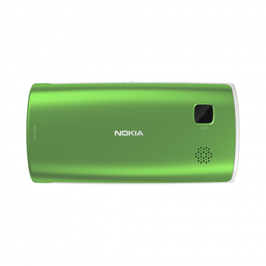Nokia 500 features