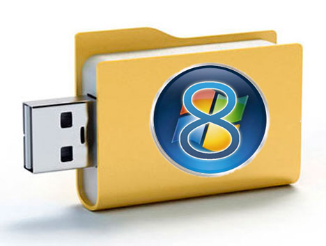 How to make a bootable USB flash drive to install Windows 8 – Step