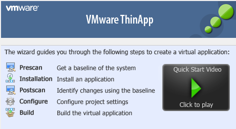 How to Make your own portable softwares with VMware ThinApp – Step by Step Guide