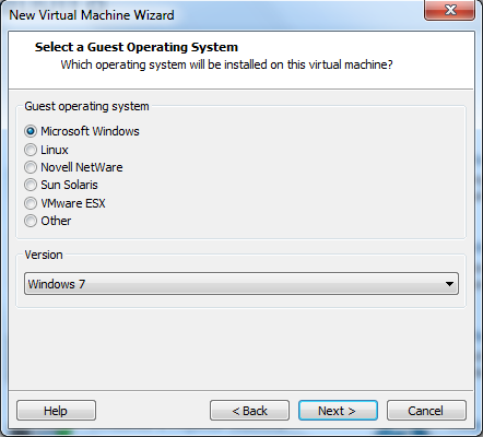Windows 8 install vmware