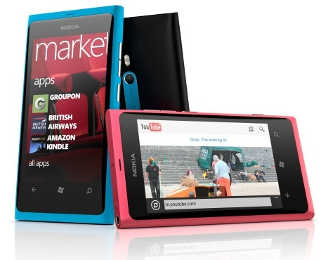 Nokia Lumia 800 features