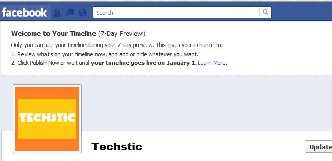 Facebook Timeline Preview
