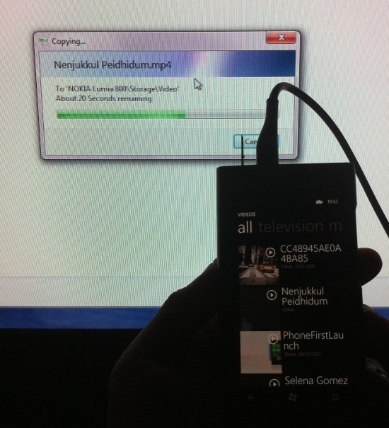 copy video How to Enable USB Mass Storage Mode in Nokia Lumia 800