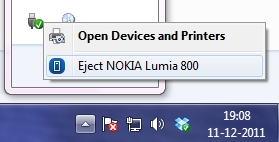 eject Nokia Lumia