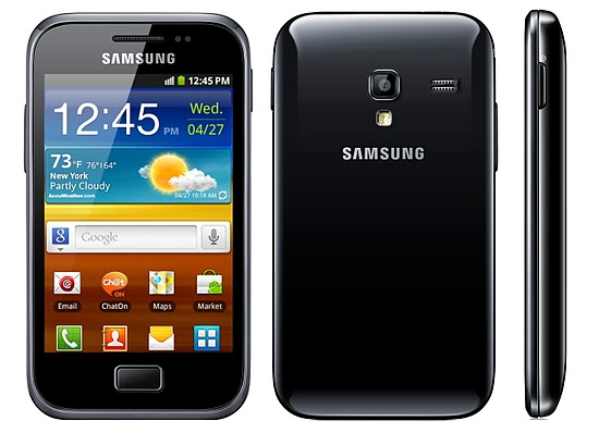 Samsung Galaxy Ace Plus Features and Specifications