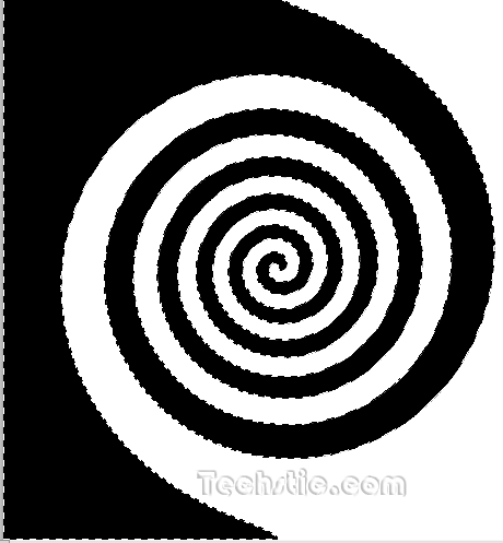 Spiral Shape Photoshop