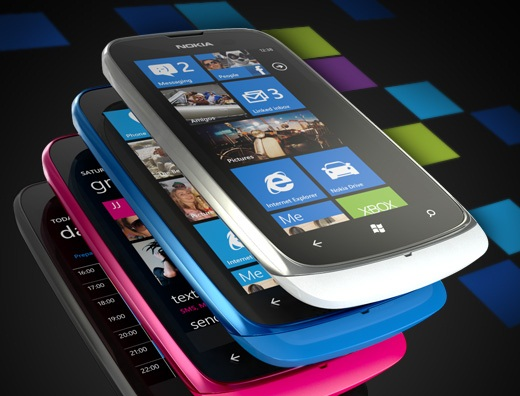 Nokia Lumia 610 Price in UK