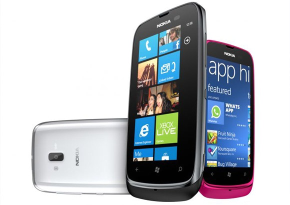 Nokia Lumia 610 features