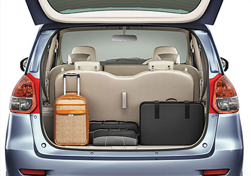 maruti ertiga storage space