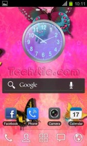 Go Launcher Homescreen 1