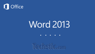 Microsoft Office Word 2013 Splash Screen