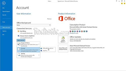 Outlook 2013 SharePoint