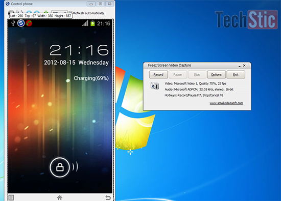 How to Capture or Record Screen of Android Mobile via MyPhone Explorer Without Rooting