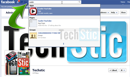 Cueler YouTube Facebook App