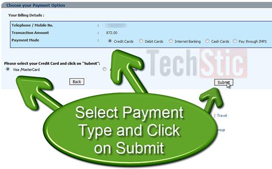 Online BSNL Bill Payment