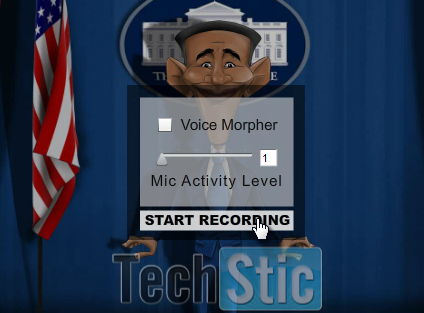 Voice Morph Effect in Animation