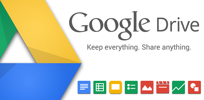 Google Drive offers storage and web content