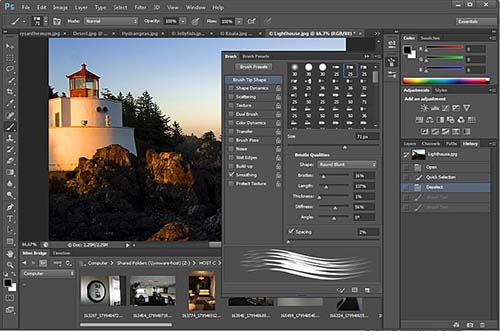 Adobe Photoshop CS6 Toolbox