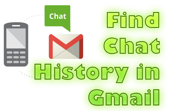 find chat history in gmail