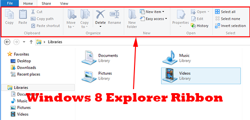 Disable Windows 8 Explorer Ribbon