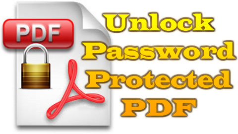 Unlock Password Protected PDF