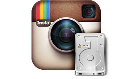 backup Instagram photos