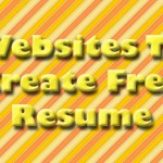 Websites To Create Free Resume