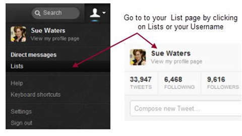 Use Twitter Lists