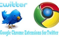 Google Chrome Extentions for Twitter